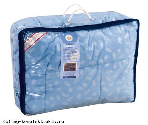 """...шерсть """".Одеяло стеганное с кантом (бязь / овечья шерсть) сумка ПВХ на..."""